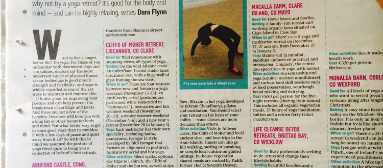 The Sunday Times Guide To Ireland's Best Yoga Retreats | Life Cleanse
